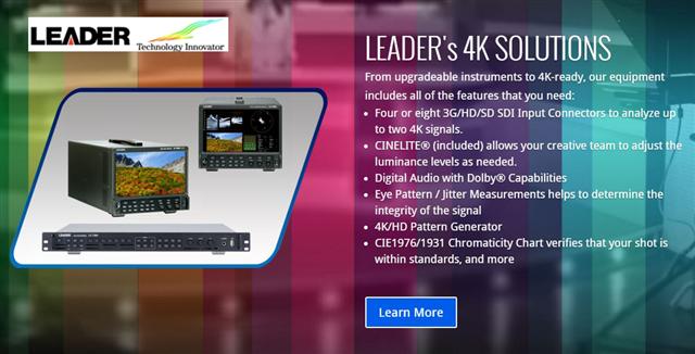 Leader's 4K Solutions