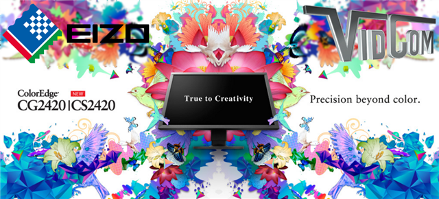 EIZO Monitors - True to Creativity