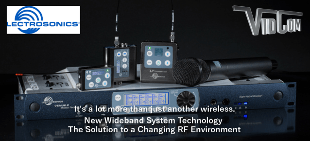 Lectrosonics Wireless Microphones and Audio Processing