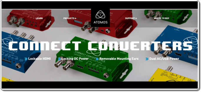Atomos Connect Converters