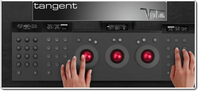 Editing & Finishing - Tangent Devices Control Panels