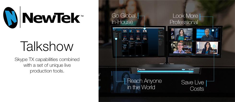 NewTek TalkShow – Skype TX