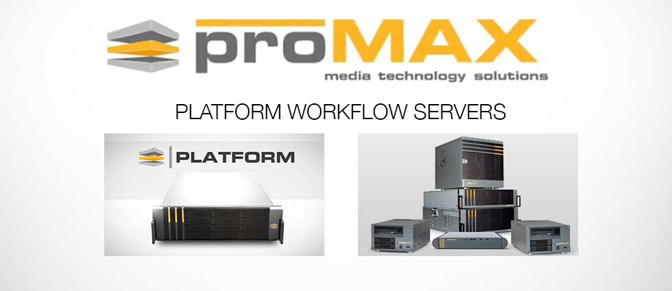Promax :: Shared Storage Platform Workflow Servers