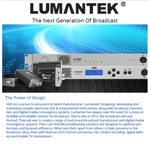 Lumantek - The Next Generation of Broadcast