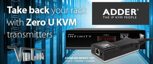 Adder Digital KVM - Take Back Your Rack Space
