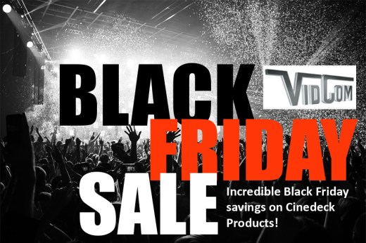 cineXtools Black Friday Sale