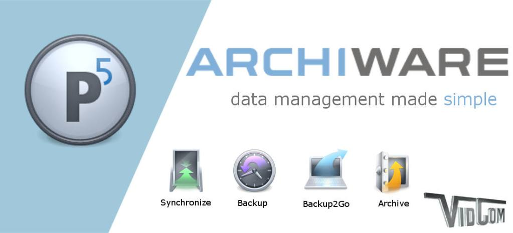 Archiware data management made simple