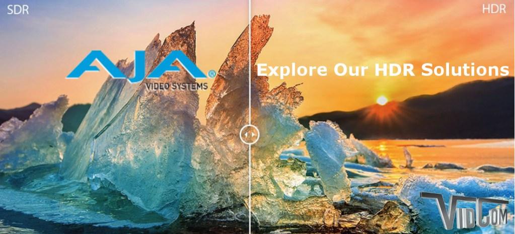 Explore AJA HDR Solutions