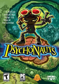 Box art for the PC game Psychonauts
