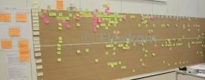 Lean VSA/VSM Værdistrømsanalyse via svømmebaneprincippet på brown paper (Lean administrations værktøj)