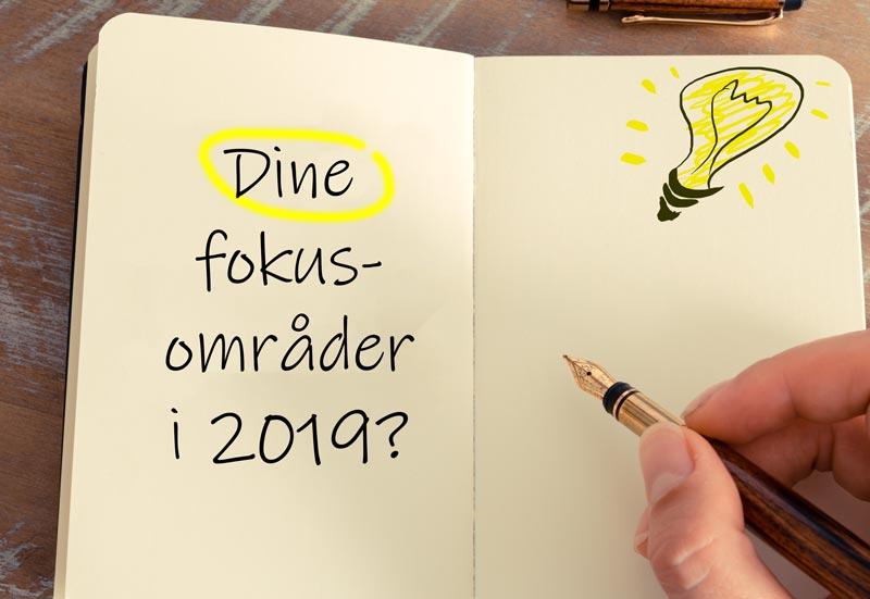 Hvad Er Dine Fokusområder 2019? Vind En IPad Pro Eller Et Kursus!