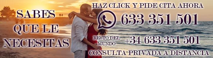 Amarre de pareja por whatsapp