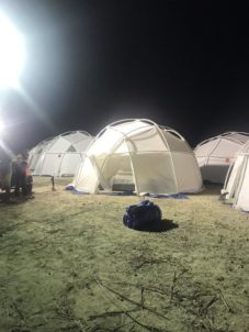 Image result for fyre festival tents