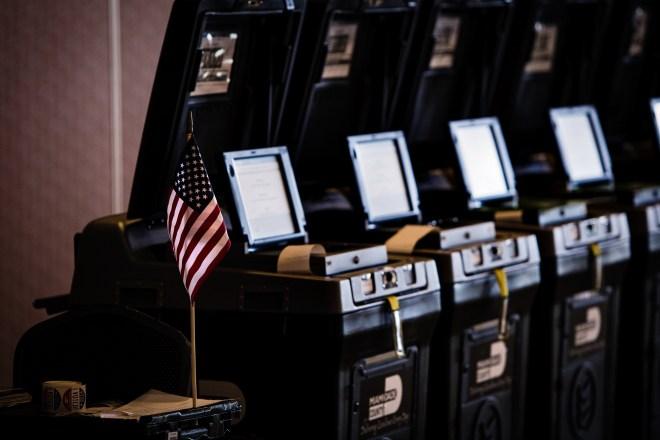 ES&S voting machines