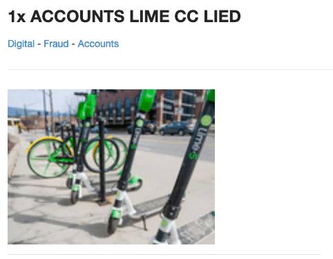 lime-dark-web-listing