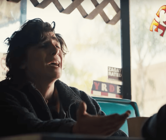 Timothee Chalamet And Steve Carell Are Sad As Hell In This Beautiful Boy Clip Vice