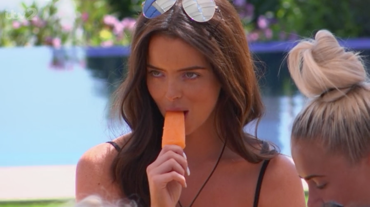 Image result for love island eating 2019
