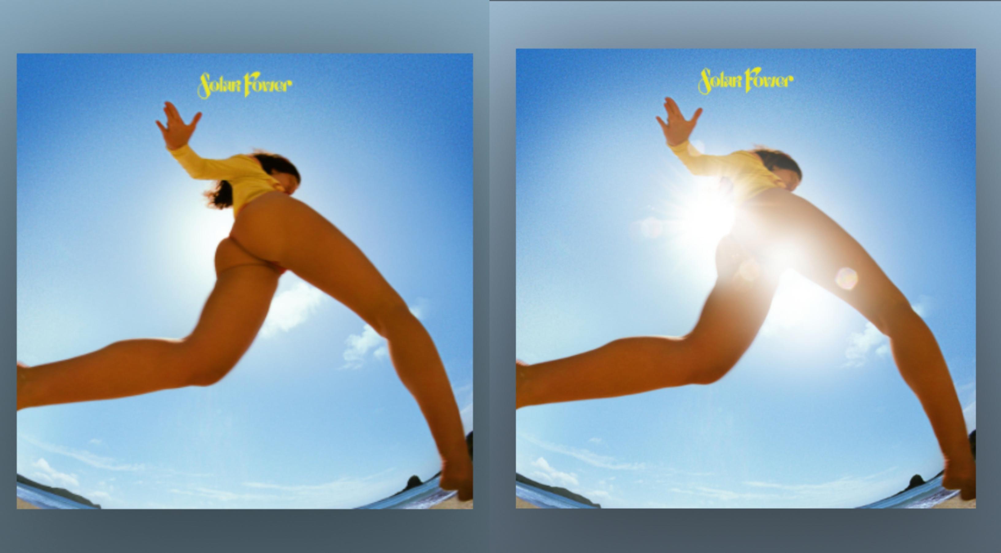 Cover Art Baru Lorde Memiliki 2 Versi.  Seseorang Tidak Memiliki Pantatnya.