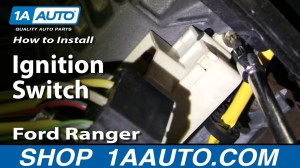 How to Replace Ignition Switch 9504 Ford Ranger | 1A Auto