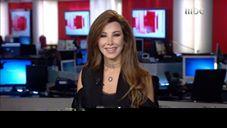 شاهد بالفيديو: نانسي عجرم تقدم نشرة الأخبار على MBC