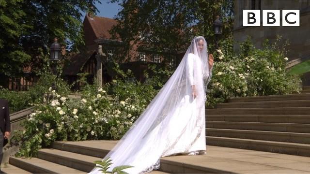 5 لقطات تؤكد تحطيم زفاف الأمير هاري وميغان ماركل للتقاليد البريطانية