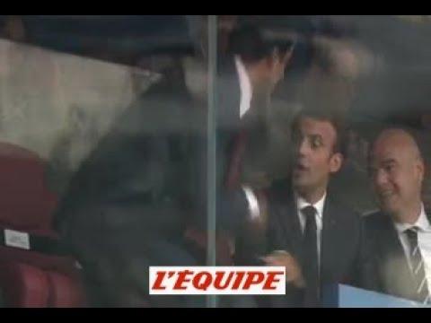 بالفيديو – تصرف أمير قطر مع زوجة ماكرون يثير ضجة.. شاهدوا ماذا فعل!