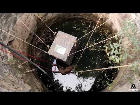 طريقة ذكية لإنقاذ أنثى فهد سقطت في بئر عميق بالهند!