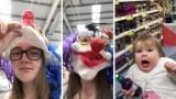رد فعل طفلة أخافتها خالتها في مقلب طريف