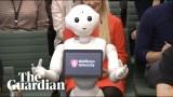 روبوت يقدم شهادة أمام مجلس العموم البريطاني