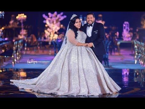 كيف احتفلت شيماء سيف بزفافها!!