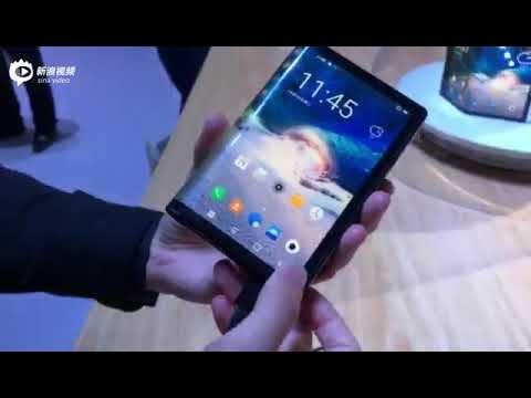 إصدار أول هاتف ذكي قابل للطي في العالم