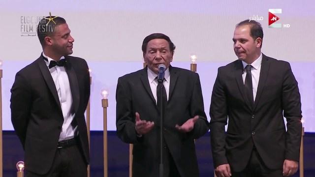 """عادل إمام يفتح """"النار"""" على مهرجان القاهرة السينمائي"""
