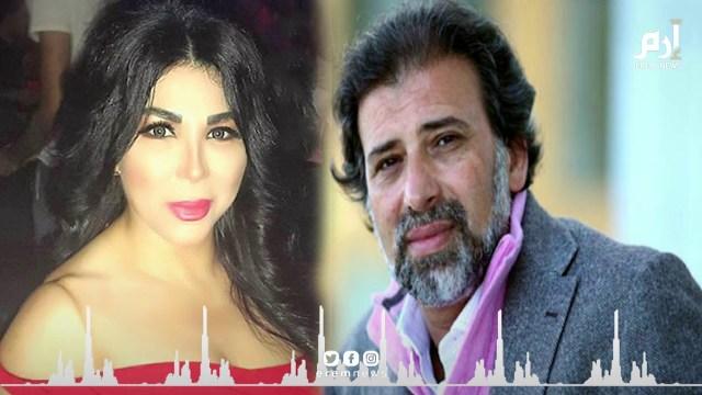 الفنانة غادة إبراهيم تتحدى : اللي معاه فيديو لي مع خالد يوسف يطلعه !