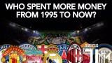 تعرف على الأندية الأوروبية الاكثر إنفاقا للمال منذ عام 1995