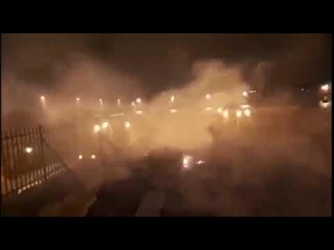 اندلاع حريق في المسجد الأقصى