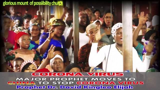 قس نيجيري يدعي النبوة ويتعهد بالسفر للصين لتدمير فيروس كورونا!