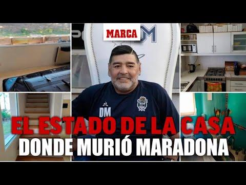 صور المنزل الذي توفي فيه مارادونا تثير الغضب