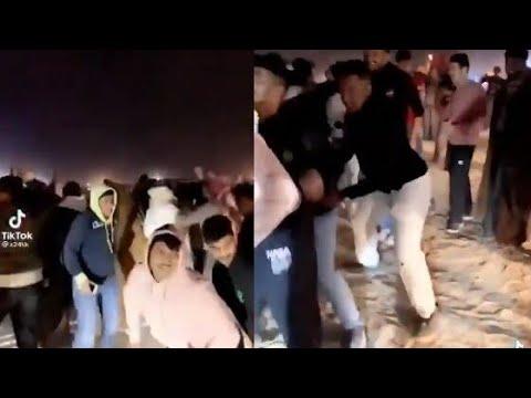 مقطع فيديو لحفل رقص على أحد شواطئ الكويت في العيد يثير ضجة