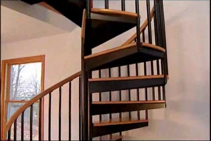 Spiral Staircase S 01A Salter Spiral Stair Stainless Steel   Salter Spiral Stair Cost   Stair Railing   Deck Railing   Stair Case   Solid Wood   Collegeville Pa