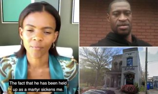 Black Pro-Trump Activist Candace Owens is Banned From GoFundMe for Spreading 'Falsehoods Against the Black Community' After Launching 0k Fundraiser for Alabama Café whose Owner Called George Floyd a 'Thug' and Protesters 'Idiots'