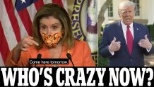Nancy Pelosi says Congress will discuss using 25th Amendment powers to remove Trump from office amid fears COVID steroid treatment is affecting his mental health