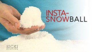 Insta-Snowball – Sick Science! #168