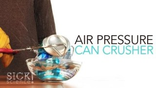 Air Pressure Can Crusher – Sick Science! #098