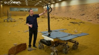 ESA Euronews: Looking for life on Mars with ExoMars