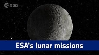 Lunar Exploration ? ESA's missions