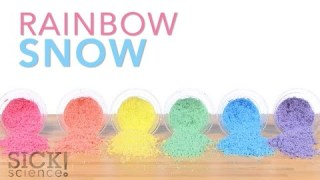 Rainbow Snow – Sick Science! #221