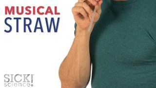 Musical Straw – Sick Science! #225