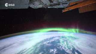 Aurora Australis from Space Station