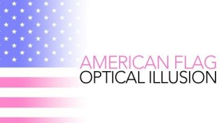 American Flag Optical Illusion – Sick Science! #002