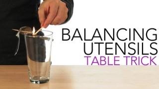Balancing Utensils Table Trick – Sick Science! #009